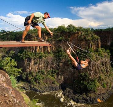Victoria Falls Gorge Swing