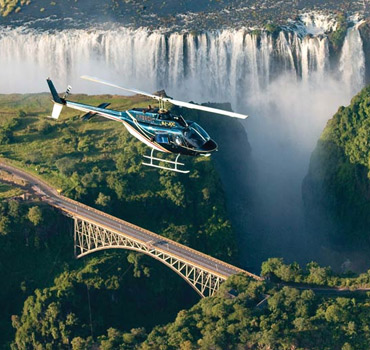 Flight Over Victoria Falls