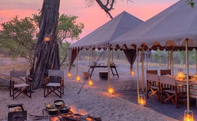 Camps of Botswana
