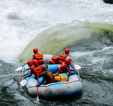 Victoria Falls Canoeing